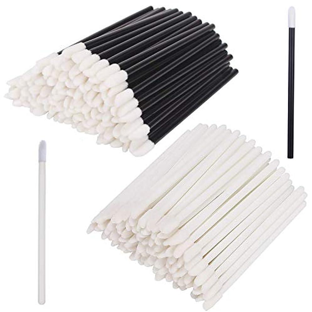 あらゆる種類の評価可能関数INTVN 使い捨てリップブラシ 200本入り メイクブラシ 化粧用品 化粧筆 化粧ブラシ 携帯用 便利
