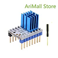 Mustwell 1PC TMC2130 Stepper Motor Mute Driver Stepstick Power Tube Built-in Driver Current 1.4A Peak Current 2.5A Replace TMC2100