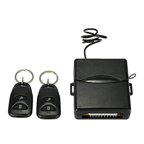 KKmoon キーレス エントリー システム キット 12V ミーセキュリティ アンサーバック 機能...