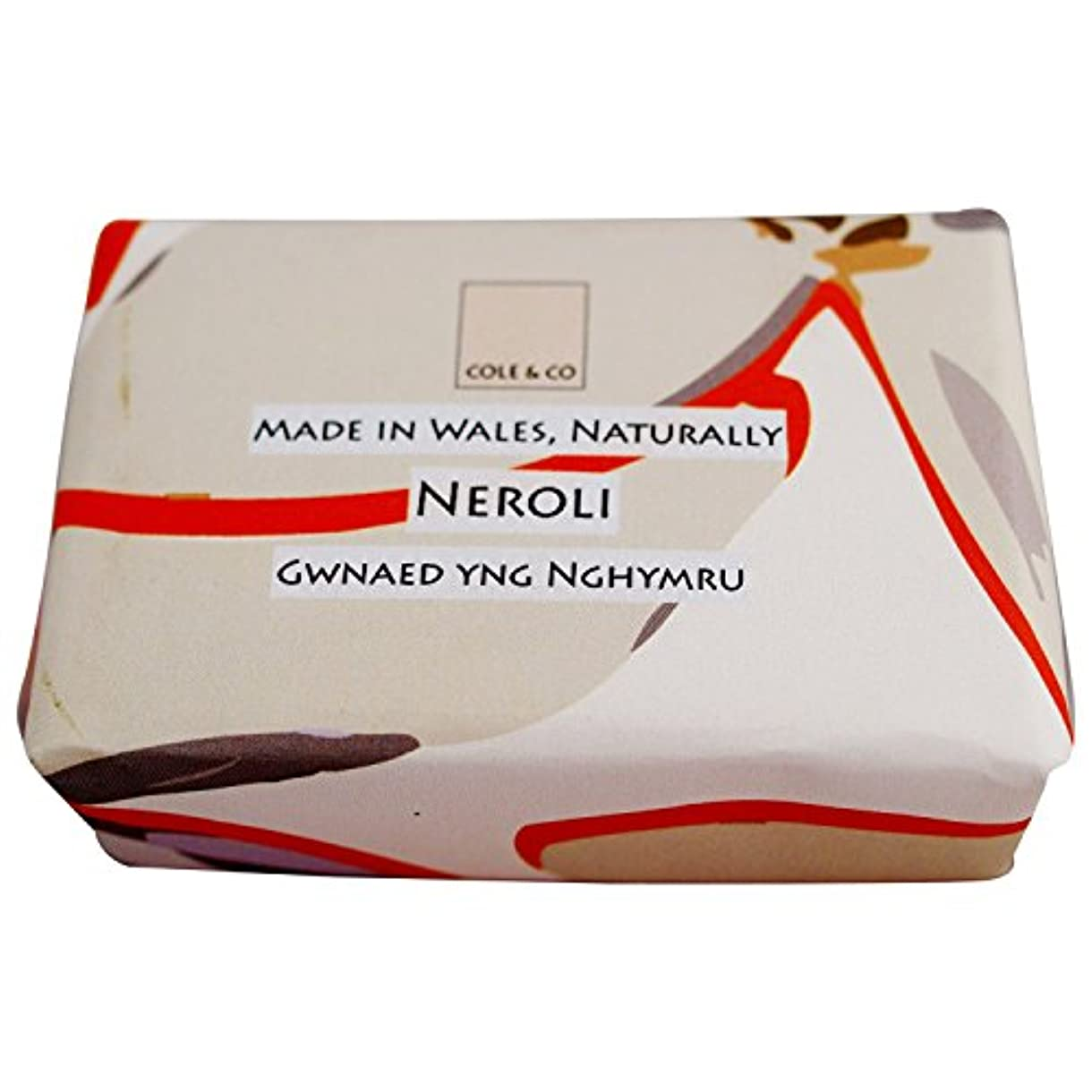 熟考するフットボール鼻コール&共同ネロリ石鹸80グラム (Cole & Co) - Cole & Co Neroli Soap 80g [並行輸入品]
