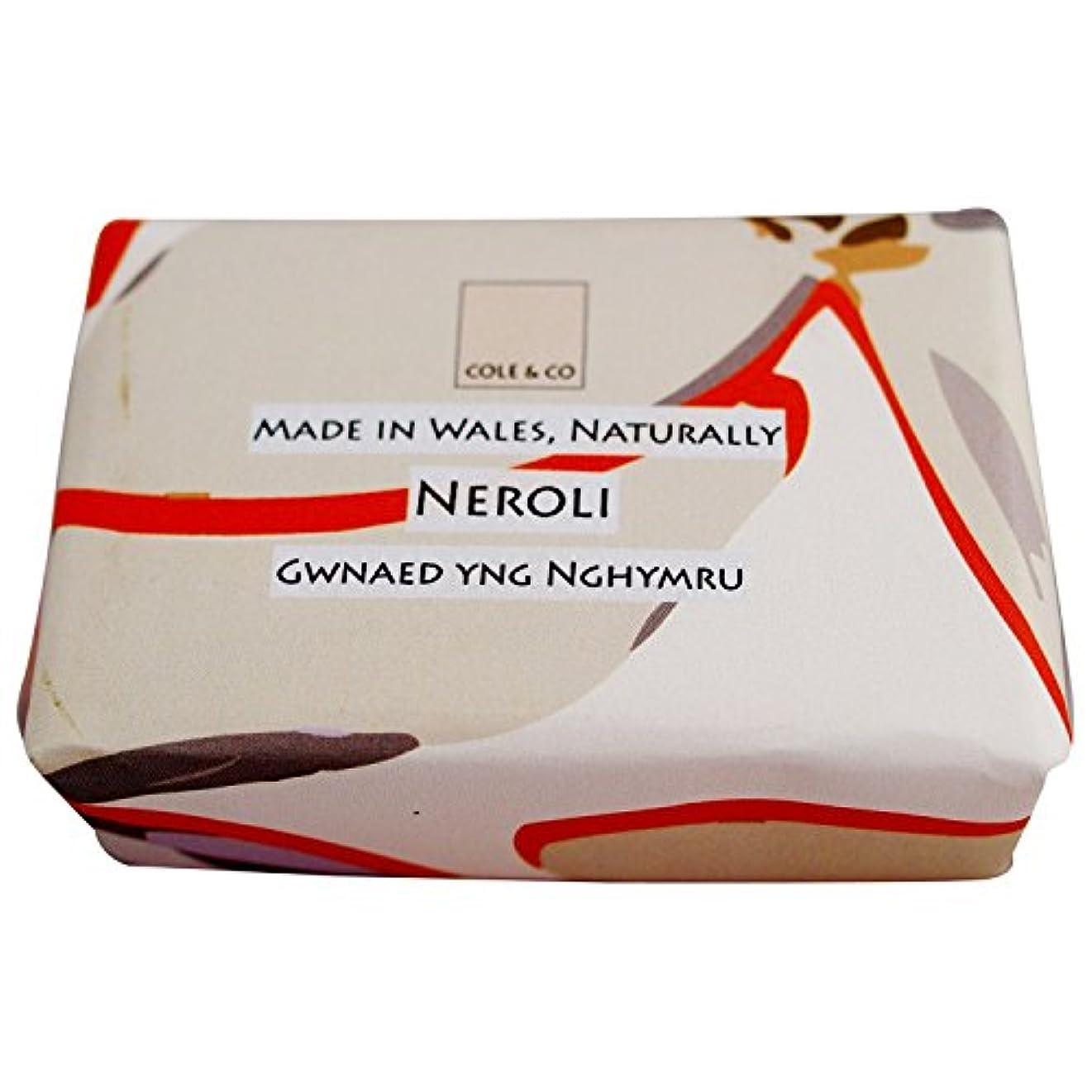 松落花生発動機コール&共同ネロリ石鹸80グラム (Cole & Co) (x2) - Cole & Co Neroli Soap 80g (Pack of 2) [並行輸入品]