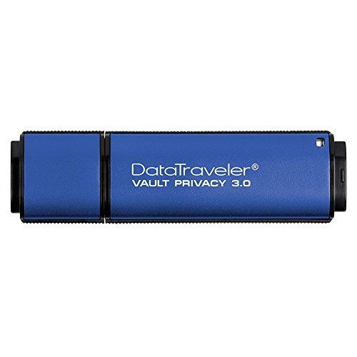 キングストン Kingston USBメモリ 64GB USB3.0 DataTraveler Vault Privacy 3.0 DTVP30/64GB 5年保証の詳細を見る