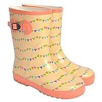 [ハウハウ] おしゃれ 長靴 レインブーツ キッズ 男の子 女の子 GAME1317 レインシューズ 雨靴 柔らかい 長靴 こども 子供 子供用 通園 通学 箱付き