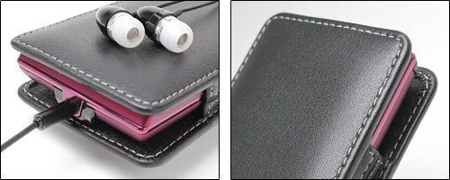 ミヤビックス PDAIR レザーケース for REGZA Phone IS04/T-01C バーティカルポーチタイプ(ブラック) PALCT01CV/BL