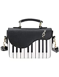 2ee248710649 Ecotrumpショルダーバッグ レディースバックパック タッセル 多機能ウエストポーチ ピアノハンドバッグ ショルダーバッグ チェスト