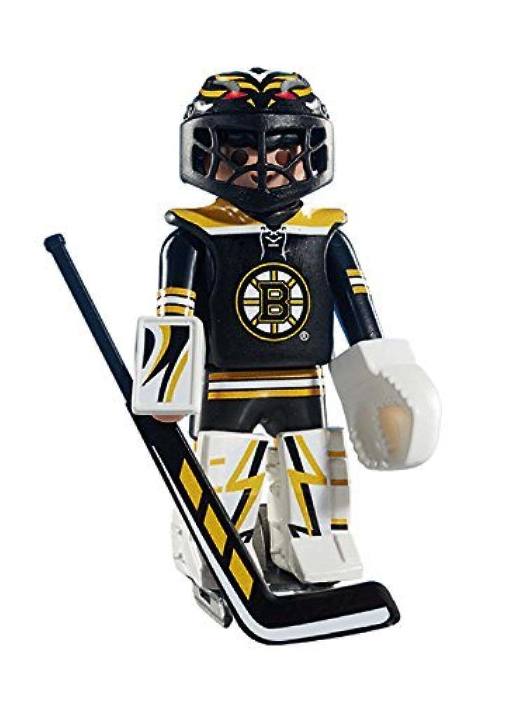Playmobil NHL Boston Bruins Goalie [並行輸入品]