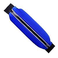 ハイキングサイクリング青を実行するための多機能屋外ランニングベルトスポーツポケット防水ウエストバッグ