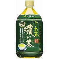 伊藤園 お~いお茶 濃い茶 1LPET×12本入