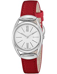 [グッチ]GUCCI 腕時計 ホ-スビット シルバー文字盤 YA140501 レディース 【並行輸入品】