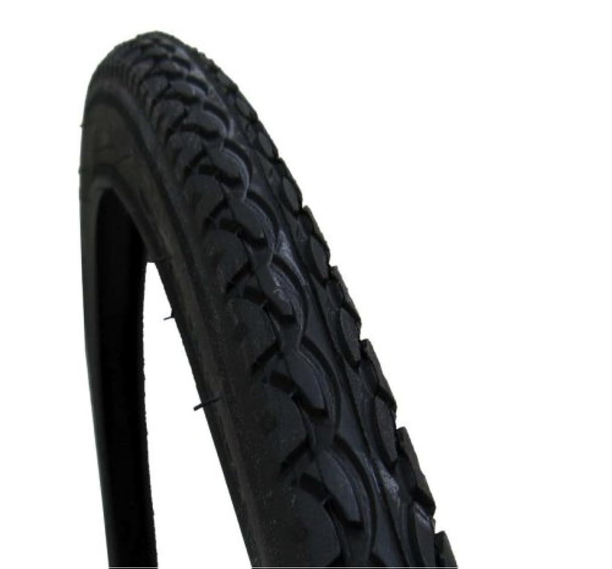 休み不良品ピューシンコー タイヤ1本巻 700×35C センタースリック ブラック