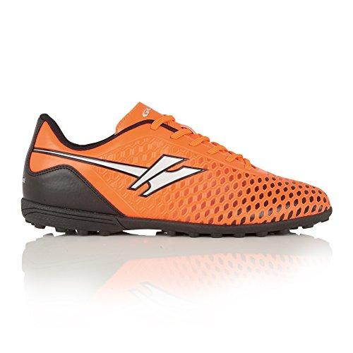 (ゴーラ) Gola メンズ イオン VX レースアップ 軽量トレーニングシューズ 紳士靴 スポーツシューズ 男性用 (8 UK) (オレンジ/シルバー)