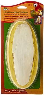 Penn Plax Cuttlebone Mineral Treat, Large