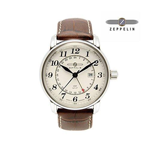 [ツェッペリン]ZEPPELIN 腕時計 メンズ LZ127 グラーフ・ツェッペリン Graf Zeppelin 7642-5N [正規輸入品]