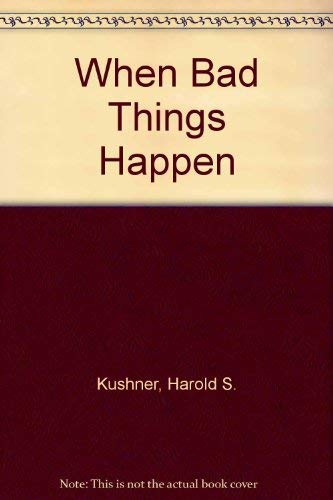 Download When Bad Things Happen to Good People 0517059975