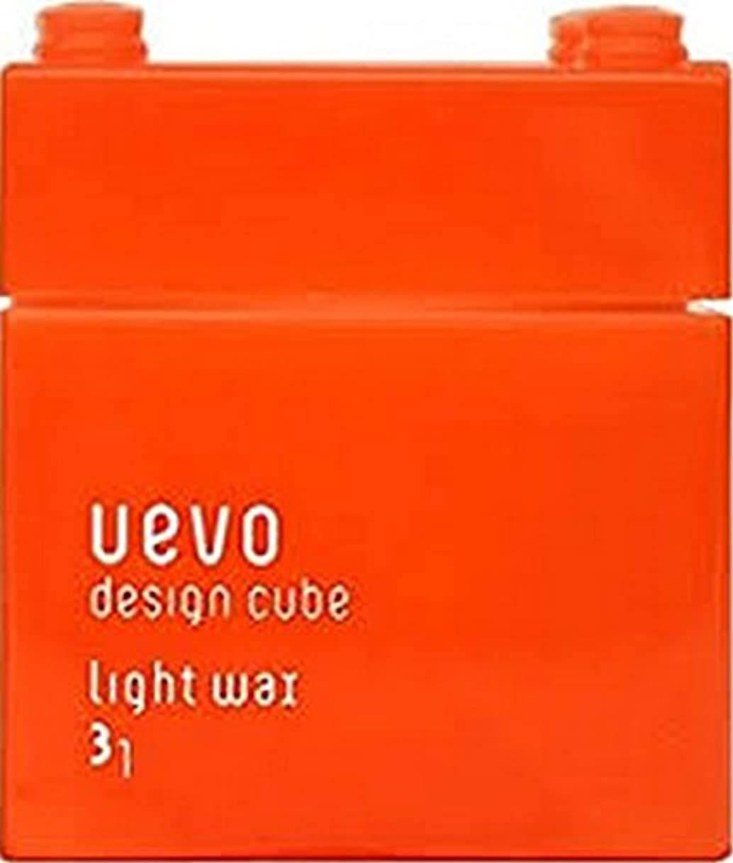 漂流上流の贅沢な【デミコスメティクス】ウェーボ デザインキューブ ラウンドワックス 80g