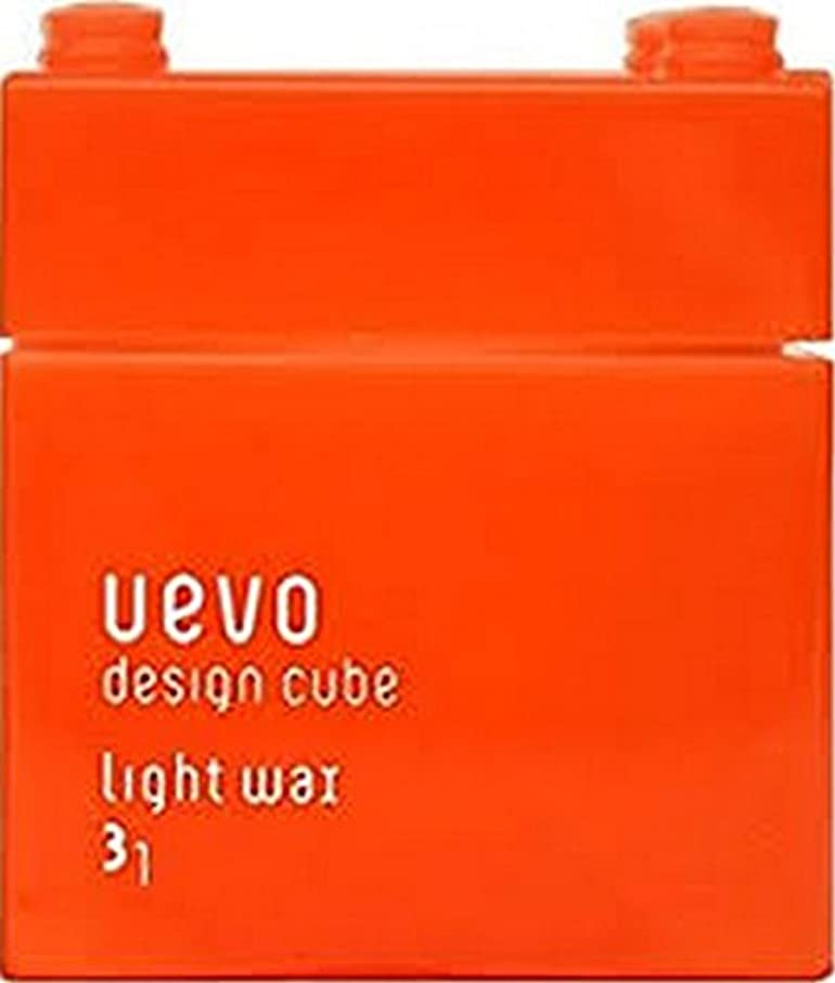 思慮深いディベート流行【デミコスメティクス】ウェーボ デザインキューブ ラウンドワックス 80g