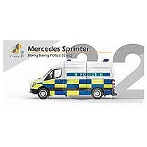 TINY No.32 メルセデス スプリンター 警察車両 完成品