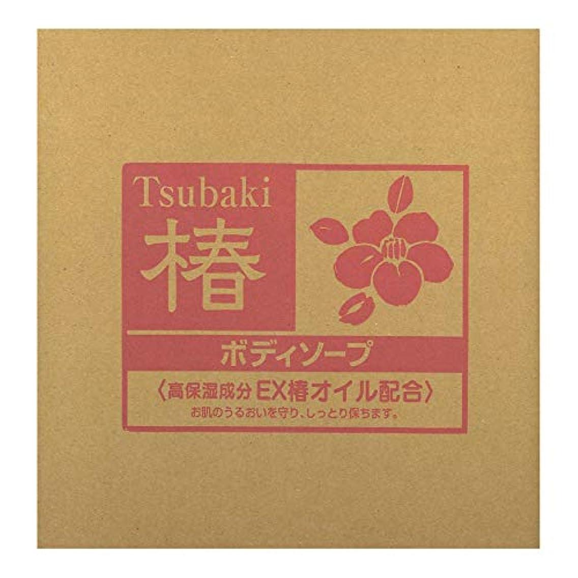 繊維黒人ファックス熊野油脂 業務用 椿 ボディソープ 18L