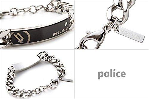 ポリス POLICE ブレスレット メンズ 腕輪 ユニバー UNIVER 市原隼人着用モデル シルバー 25334BSS01 SILVER