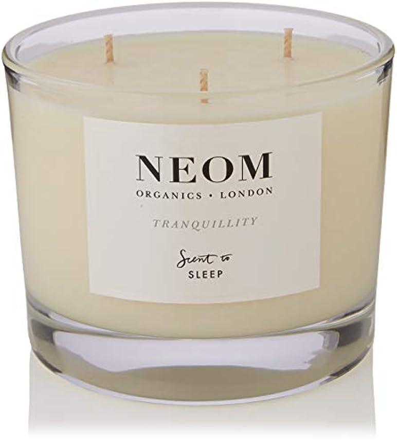 商品はさみ正規化NEOM センテッドキャンドル (3ウィック/420g) TRANQUILLITY(SLEEP)