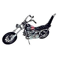 アンティークオブジェ ブリキのおもちゃ(motorcycle american) 27440