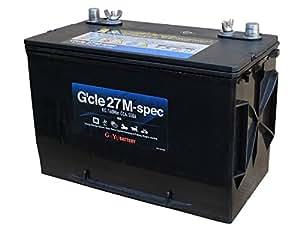G&Yu[ジーアンドユー] マリンレジャー用バッテリー G'cle27M-spec [互換品:M27MF]