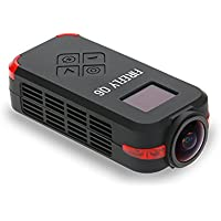 RaiFu 空中ビデオカメラ Firefly Q6 4K HD FPV 120広角動作カメラZMR250 QAV250 210 QAV180 ドローン用 ブラック