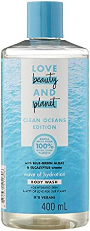 Love Beauty And Planet Blue Green Algae & Eucalyptus Wave of Hydration Body Wash, 4