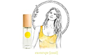 IME 100% Natural Perfume - euterpe [cool] Fresh Fruity Scent - feel confident, creative, cool. Certified Toxin & Cruelty Free. 30ml EDP