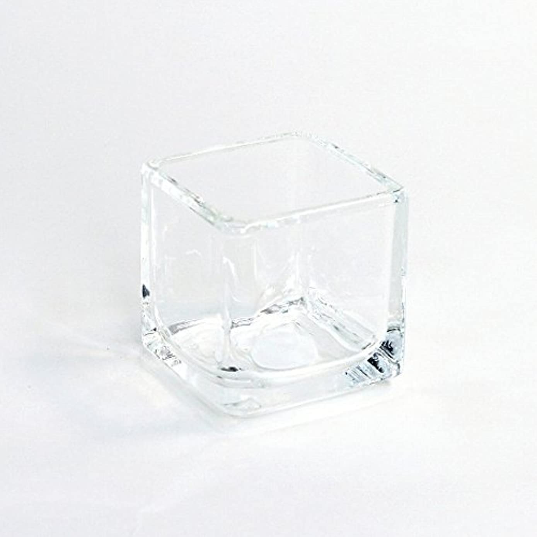 勧める変換離婚カメヤマキャンドル(kameyama candle) キュービック 「 クリア 」