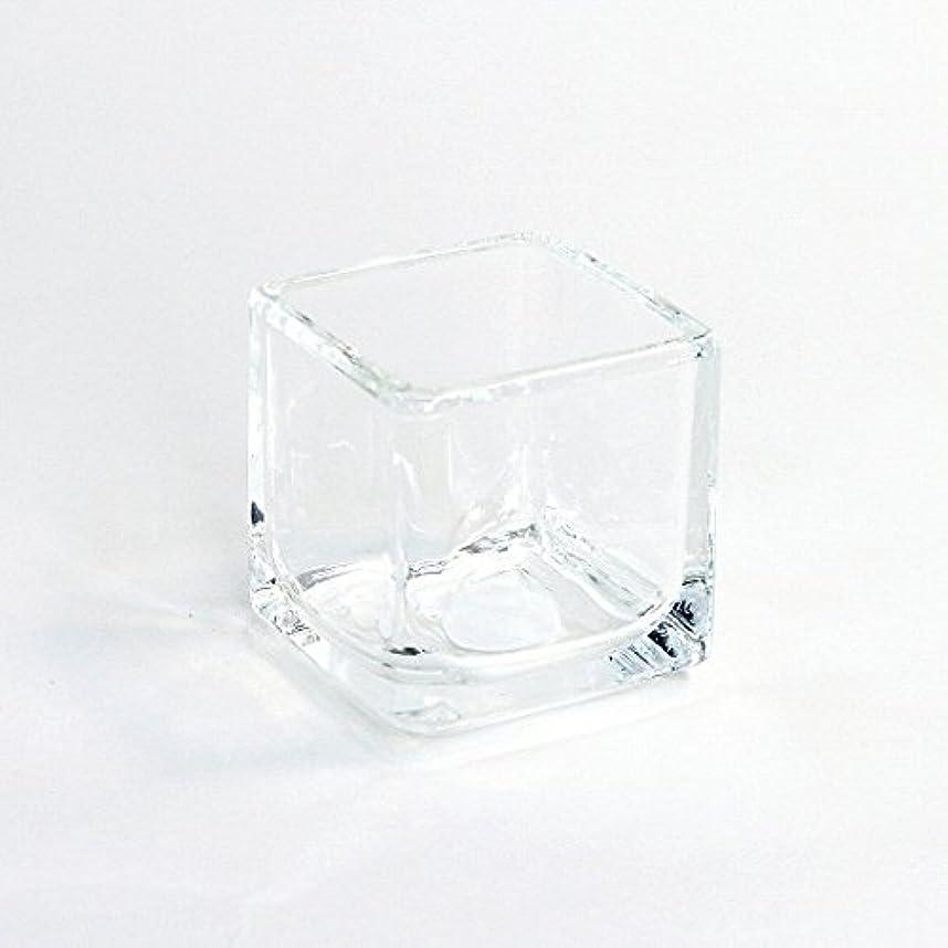 トラブル信頼性無知カメヤマキャンドル(kameyama candle) キュービック 「 クリア 」