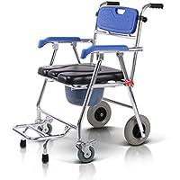 CGN- ポータブル折り畳み式車椅子、障害者のためのトイレシート折り畳み式椅子片麻痺の復元椅子 - 移動性の問題を持つほとんどの人に適しています soft ( サイズ さいず : 57*55*84cm )