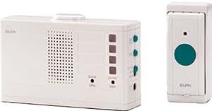 ELPA ワイヤレスチャイム ランプ付き受信器セット EWS-2001