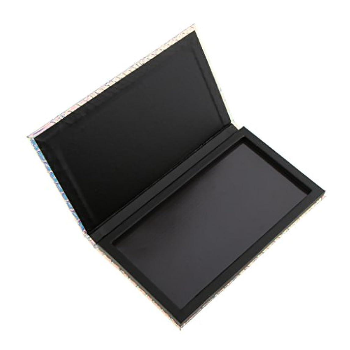 ゆるくグラフ発疹Kesoto 磁気パレットボックス アイシャドー パウダー メイクアップ 収納 長方形 空磁気パレット コンテナ ボックス 収納