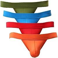 Summer Code Men's Briefs Pack Soft Bulge Bikini Sexy Underwear
