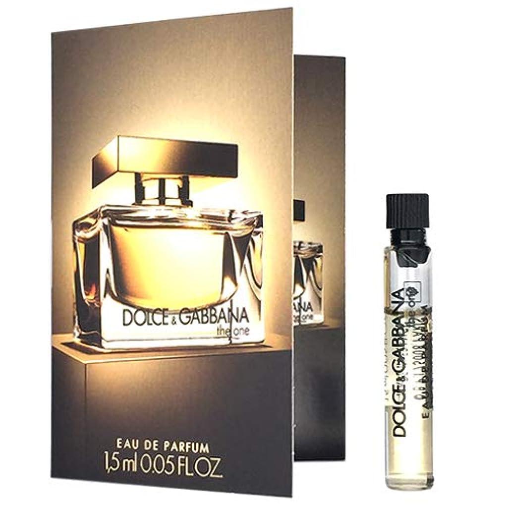 素晴らしいよろめく株式ドルチェ&ガッバーナ D&G ザ ワン オードパルファム EDP 1.5ml ミニ香水 サンプル 香水 DOLCE GABBANA [並行輸入品]