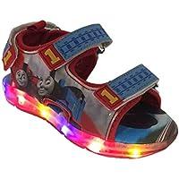 Thomas The Train Light-Up Toddler Boys Sport Sandal