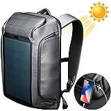 ビームバックパック ソーラーバックパック リュックサック 防水防雨 充電機能 メンズ ビジネス PC バッグ 登山 トレッキング USB充電ポート付き ソーラーパネル 9W Beam Backpack