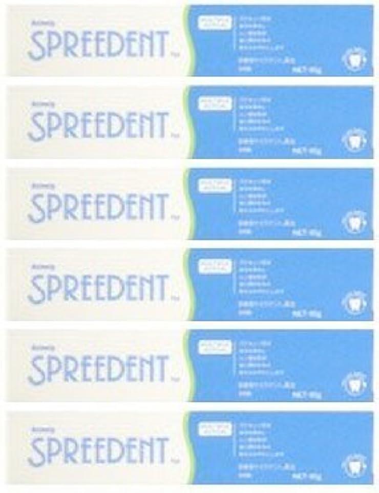 制限する和解するスピーカーアムウェイ スプリーデント フッ素配合ハミガキ ハンディサイズ1本 (65g) E949J-99【6個セット】