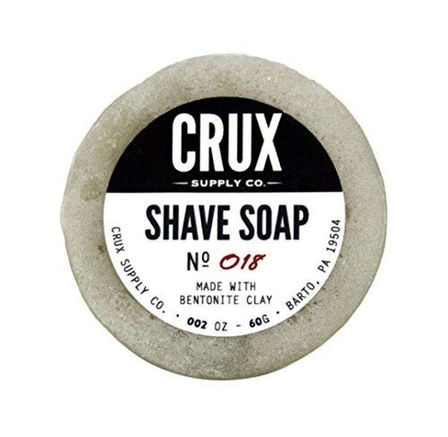 満了設計図閉じ込めるCRUX Supply Co. - Shave Soap [並行輸入品]