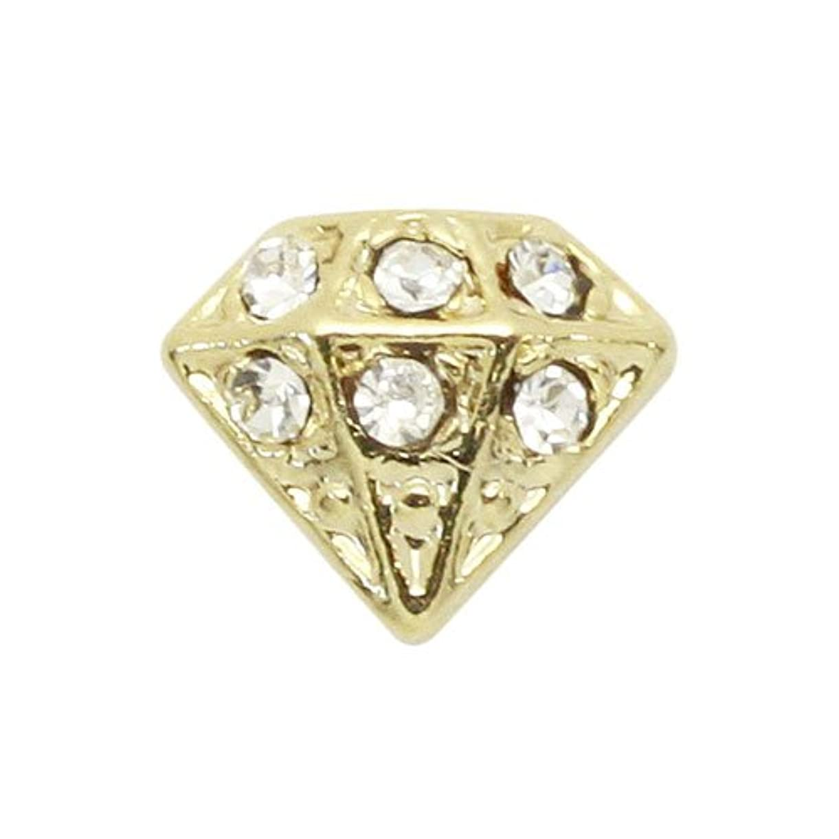 裁判所気絶させる見ましたエムプティ ネイルパーツ ダイアモンド A191 1個