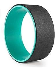 上質 ヨガリング ヨガホイール(2トーン 三色) 高級TPE素材 ABS素材 トレーニング ダイエット サポート背中 柔軟 バックストレッチャー マッサージ 脊椎揃えピラティスロール エコ 健康 安全 自宅運動
