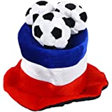 bestoyardフランス韓国国旗サッカーボールパーティー帽子キャップ2018ワールドカップサッカーファン帽子キャップ