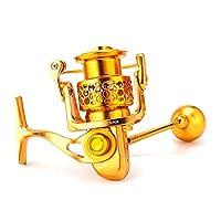 ACHICOO 高力すべて 金属はスリップ防止スリップ 回す滑り止め 釣車輪 斜め 4000ゴールド