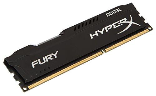 Kingston デスクトップ オーバークロックPC用メモリ DDR3L-1600 (PC3L-14900) 4GB HyperX FURY CL11 1.35V Non-ECC DIMM 240pin HX318LC11FB/4 永久保証