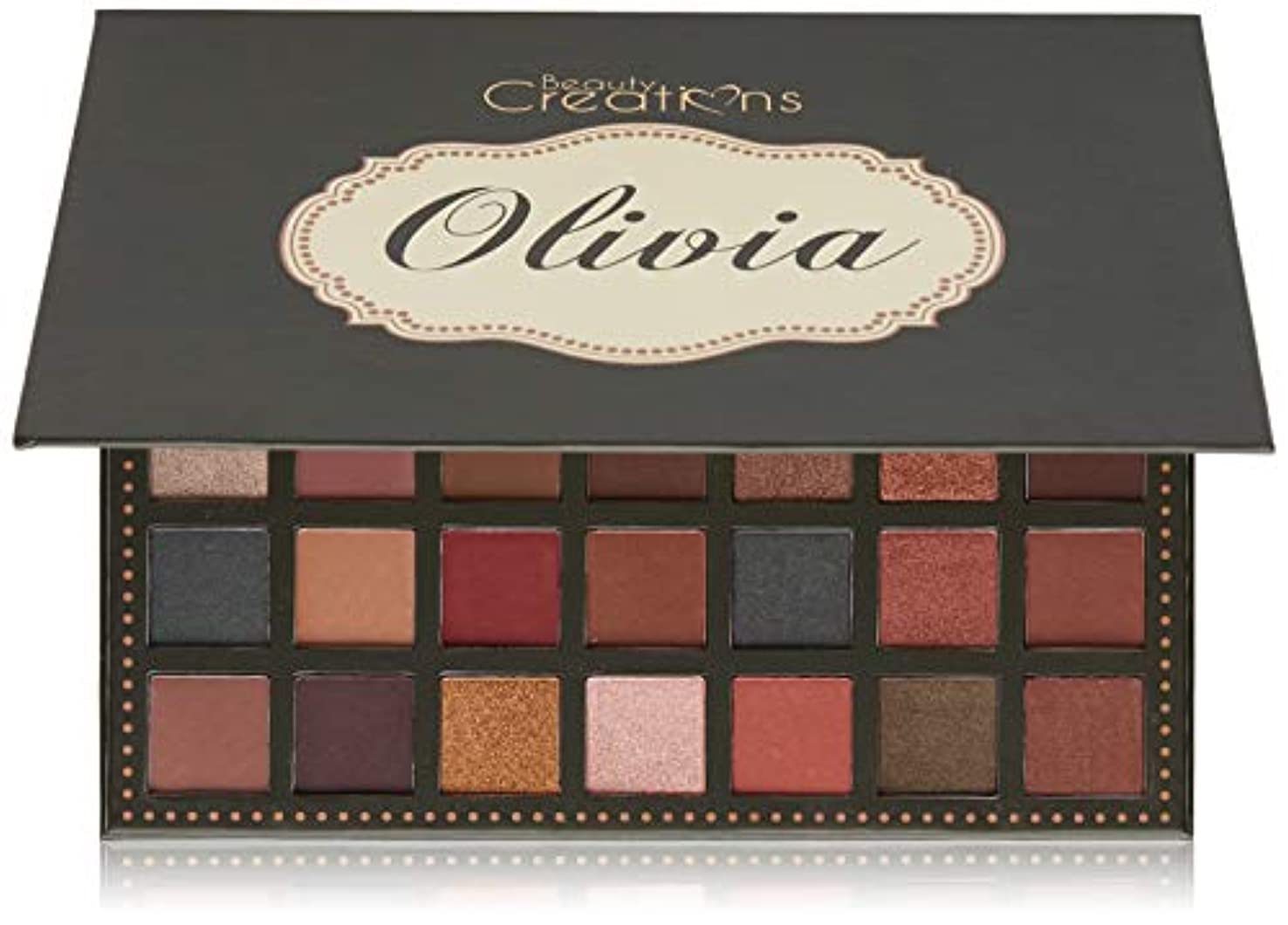 量でカロリーわなBEAUTY CREATIONS 35 Color Palette - Olivia (並行輸入品)