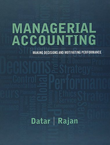 Download Managerial Accounting: Decision Making and Motivating Performance 0137024878