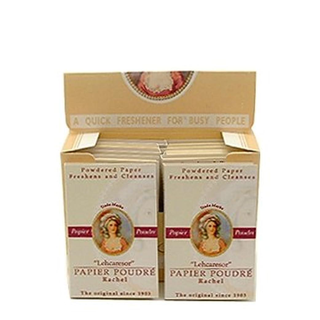 ヘッジ同時トリクルベリック商会 パピアプードル 紙白粉 ローズ64枚入×12個(箱入)