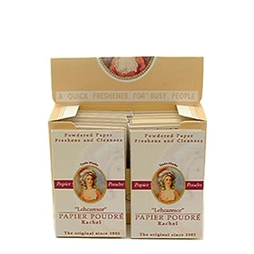 ヒューバートハドソン消費者病ベリック商会 パピアプードル 紙白粉 ローズ64枚入×12個(箱入)