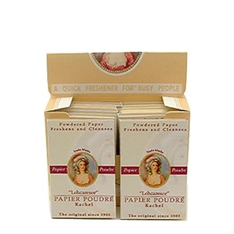 イタリアの破産ネクタイベリック商会 パピアプードル 紙白粉 ローズ64枚入×12個(箱入)
